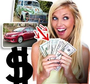 CASH FOR CARS CLUNKER SCRAP JUNK OLD BROKEN CAR VEHICLE REMOVAL