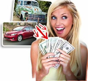 CASH  FOR  YOUR  UNWANTED  CAR - UP  TO $1,000  S