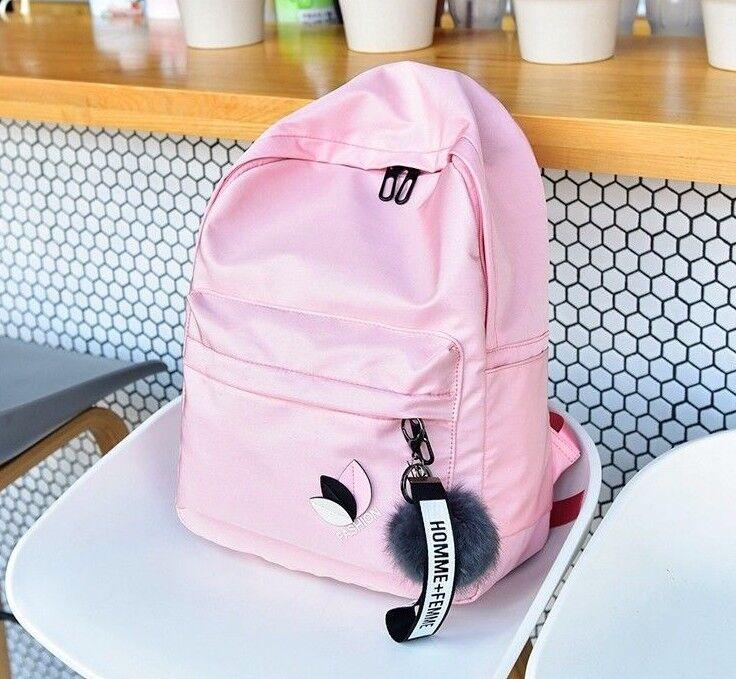 Women Waterproof Nylon Backpacks Rucksack School Backpack Fo