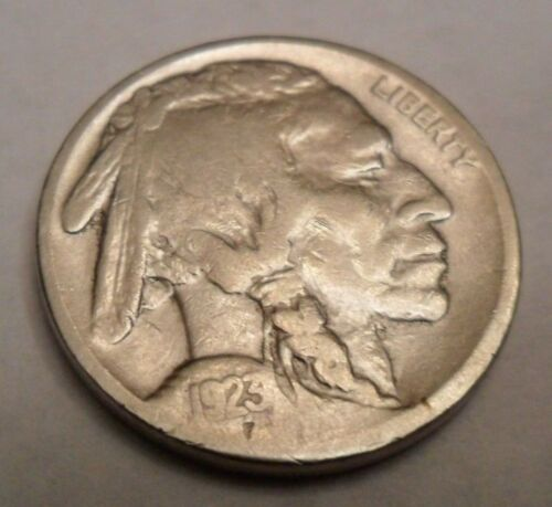 """1923 P INDIAN HEAD """"BUFFALO"""" NICKEL  *AG OR BETTER*   **FREE SHIPPING**"""