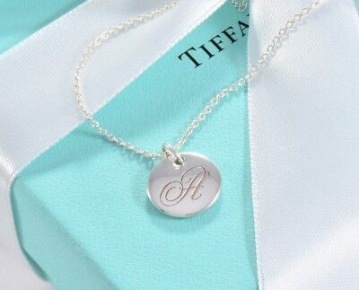 Tiffany & Co Silver Small Letter