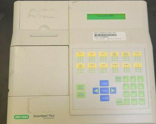 Bio-Rad SmartSpec Plus Spectrophotometer (Printer Not Working) CHECK VIDEO