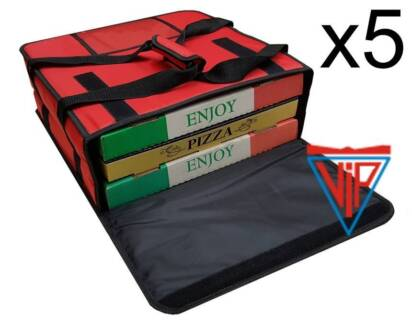 5 x Pizza Delivery Bags Model: I-414115 - NEW