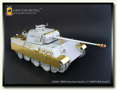 Photoetch for 1/35 WWII German SdKfz.171 Panther Ausf.G for Dragon 6268