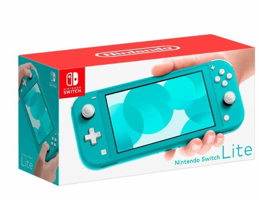 Nintendo Switch Lite Handheld Console 32GB  - Turquoise - Ne