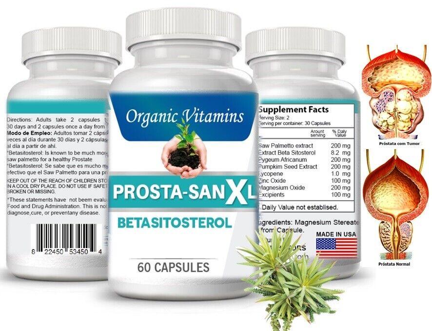 Prosta Sana Capsulas naturales para el alivio de la Prostata inflamada potency +