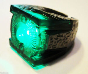 GREEN LANTERN OFFICIAL MOVIE LIGHT UP POWER RING RARE