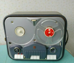 1960 Philips 4 Track Reel-to-Reel Tape Recorder Model EL3542A 52