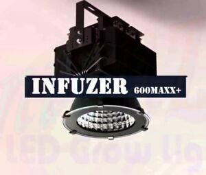 x2 INFUZER 600Maxx. Huge Full Spectrum Serious Grow Lights