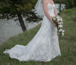 Mori Lee Wedding Dress - Great Condition