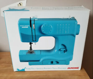 New Teal Blue Sewing Machine