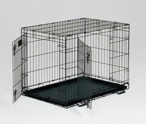 NEW IN BOX! MIDWEST DOUBLE METAL CAGE WITH DIVIDER SZ M