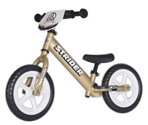 *NEW* STRIDER Pro and Ltd. Edition Balance Bikes (w/warranty)!