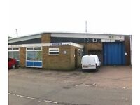 3000 sq ft Industrial Unit available for rent 1295 pcm