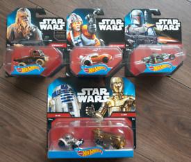 Hot Wheels Star Wars Set of 4 £20