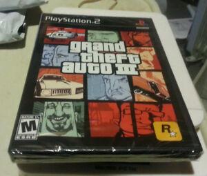 GTA 3 lll FOR PS2! STILL IN FACTORY PLASTIC!