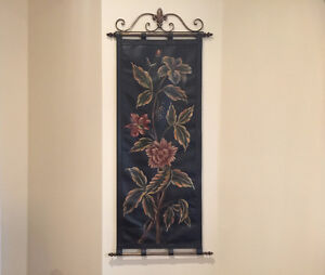 Leather Floral Scroll