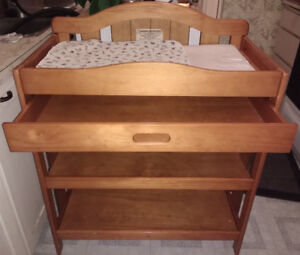 Wooden Change Table