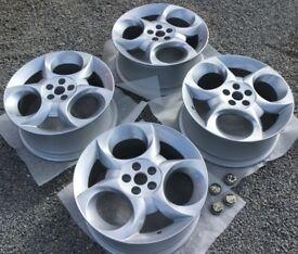 "Alfa Romeo 147 Supersport 17"" Alloy Wheels Refurbished Immaculate 5x98 Lancia Fiat 156 166 159"