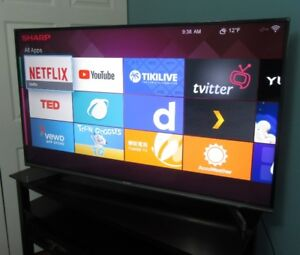 "Sharp 50"" Smart LED TV"