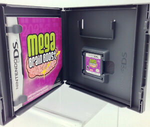 Nintendo DS -  MEGA BRAIN BOOST  by Majesco or lot of 11 games West Island Greater Montréal image 2
