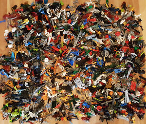 HUGE LEGO BIONICLE HERO FACTORY LOT of over 15 lbs KNIGHTS KINGD