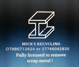 FREE SCRAP METAL COLLECTION /£BUYER OF BULK AMOUNTS AND SCRAP CARS ££
