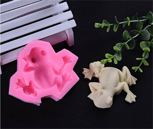 Frog Silicone Mold Cookie Fondant Cake Chocolate Mould Decor Baking DIY Gadgets