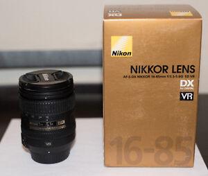 Nikon 16-85mm 1:3.5-5.6G ED VR