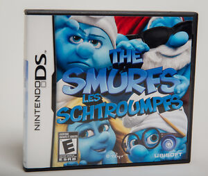 Nintendo DS game SMURFS