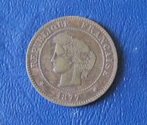 Monnaie – Collection - Pièce de 5 Centimes Cérès