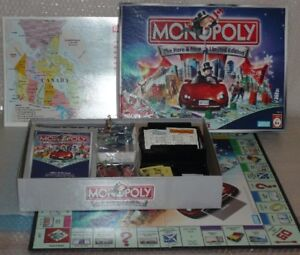 MONOPOLY The Here & Now Canadian cities Edition