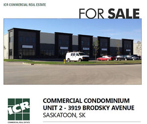 Industrial Condo in Saskatoon Marquis - For Sale