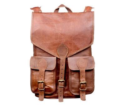 Genuine Leather Laptop Backpack Rucksack Messenger Bag Satchel eco-friendly Eco Friendly Messenger Bag