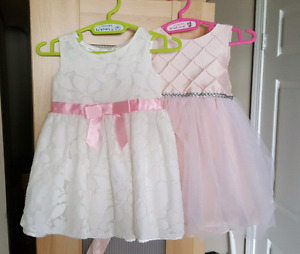 12 month Dresses with Bloomer - Excellent Used Condition  (EUC)
