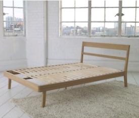 Habitat Tatsuma Double Bed Frame - Ash