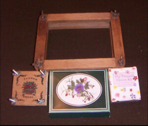 Flower Pressing Forms and Kit