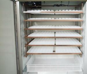 110V Commercial Large Scale Poultry Incubator 1056 eggs