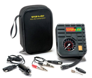 STOP & GO MINI AIR COMPRESSORS IN STOCK NOW!