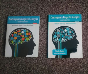 Contemporary Linguistic Analysis, 8th ed., by William O'Grady