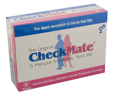 Check Mate Semen Detection Kit Sex Detector Catch Cheating Spouse Cheat