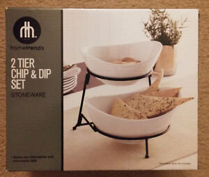 Elegant Chip & Dip Set - NEW IN BOX