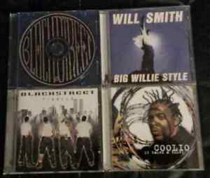 4 CD'S for $5 (Rap and R&B)