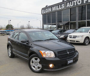 2008 Dodge Caliber,Low Km + WINTER TIRES+RUST PROOF CERTIFIED