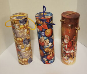 Wine Gift containers--Christmas Theme