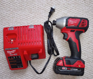 Milwaukee M18 Li-Ion Cordless 2-Speed Impact Driver