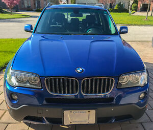 ***2007 BMW X3 3.0i  SUV - Very Low KMs**** PRICED TO SELL