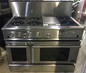 "48"" Fisher & Paykel dual fuel Stove griddle DCS $6500!! as tor"