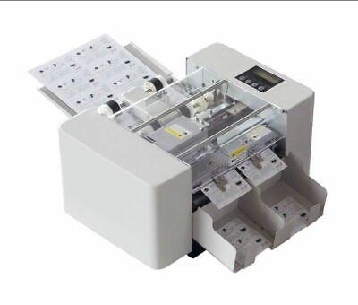 A4 Size Automatic Business Card Cutting Machine Electric Paper Card Cutter
