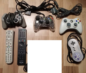 25$ to 30$ Controllers Manette, xbox 360, ps1, n64 64 snes
